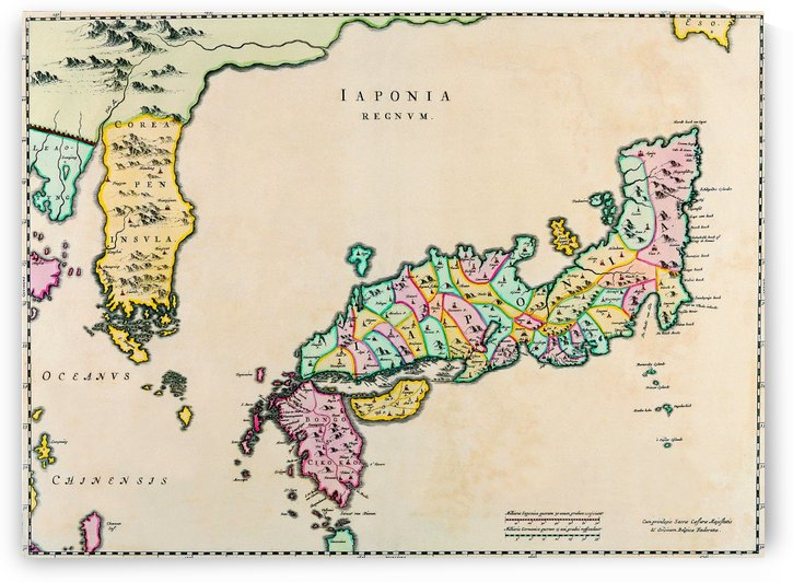 Ancient Japan Map 2 by Culturio