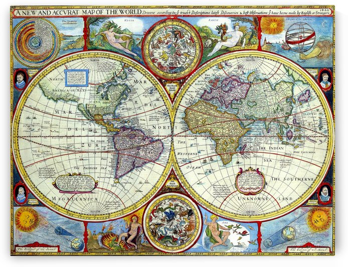 Ancient World Map 10 by Culturio