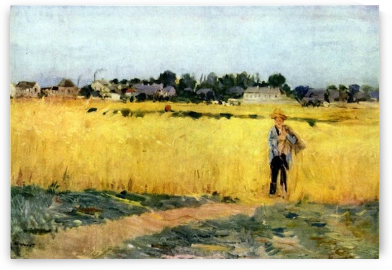 Cornfield by Morisot by Morisot