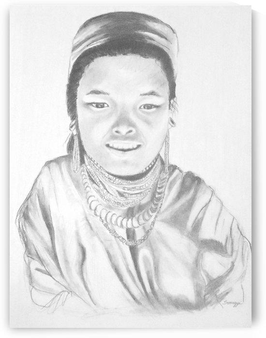 Thai Girl c. 1980 by Jayne Somogy