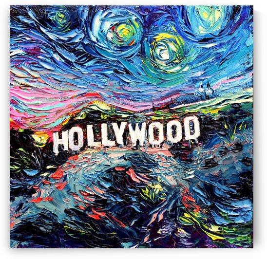 Hollywood Art Starry Night van Gogh by Shamudy