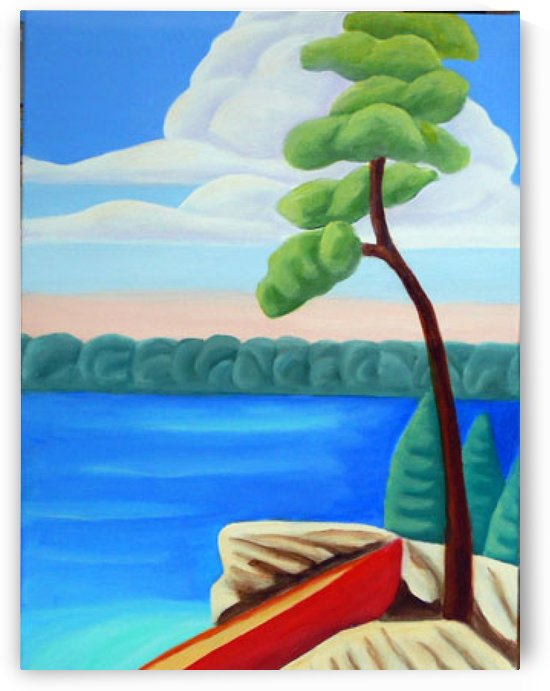 Georgian Bay Shores by Lynn Soehner