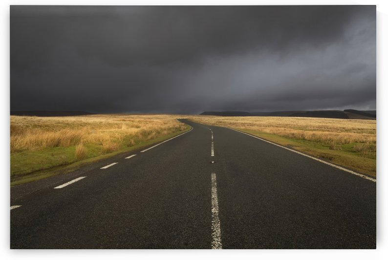 The road to Penyfan by Leighton Collins