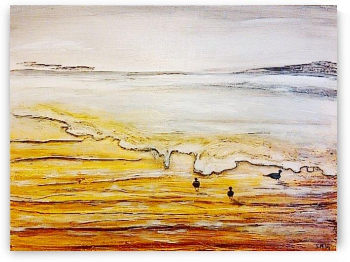 Guilded Beach by Ingrid Mueller