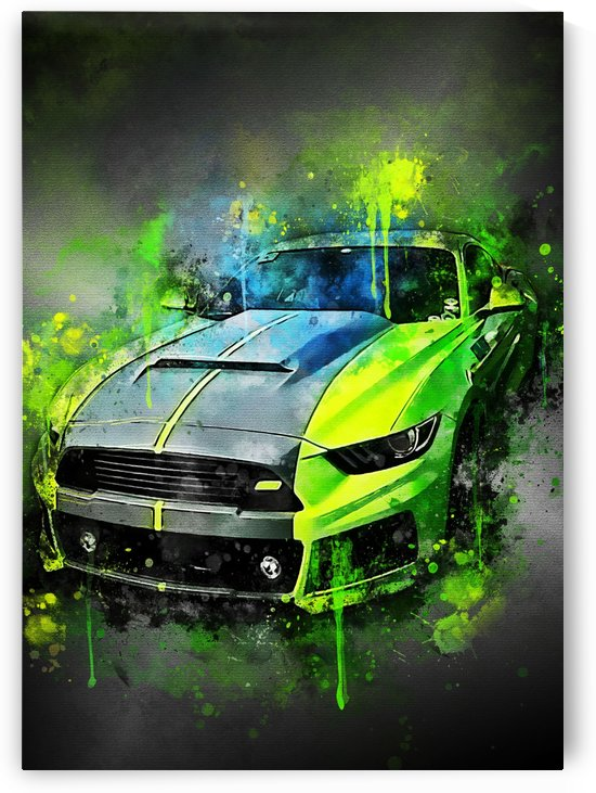 ford mustang greemm by BARACCA Studio