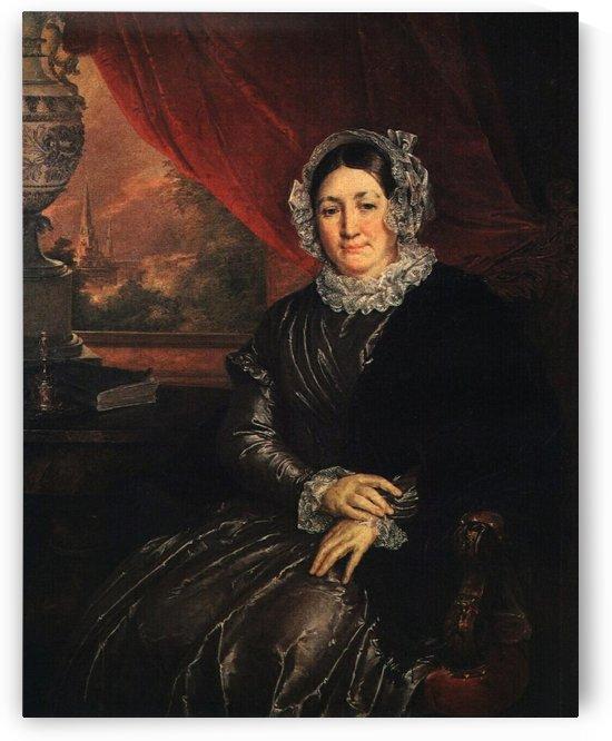 Portrait of E. P. Protasyeva by Vasily Tropinin