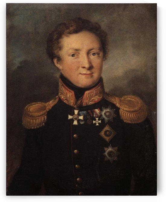 Portrait of General AI Gorchakov by Vasily Tropinin