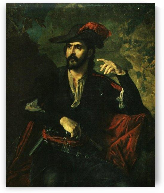 Portrait of Prince Obolensky by Vasily Tropinin