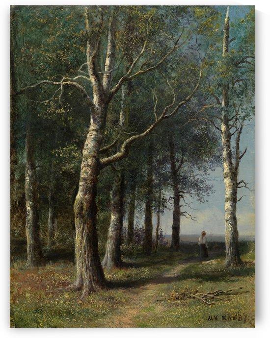 Forest path by Mikhail Clodt