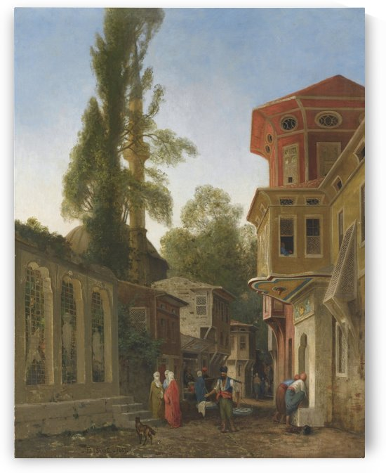 Quartier de Constantinople by Germain Fabius Brest