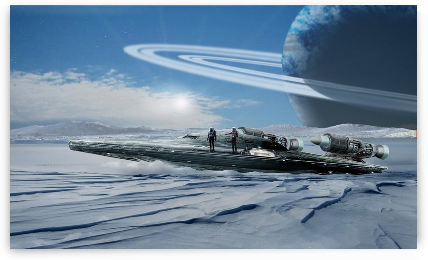 ICE Ship by Bill Wright