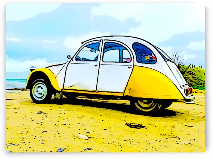 Beach Car by W Scott