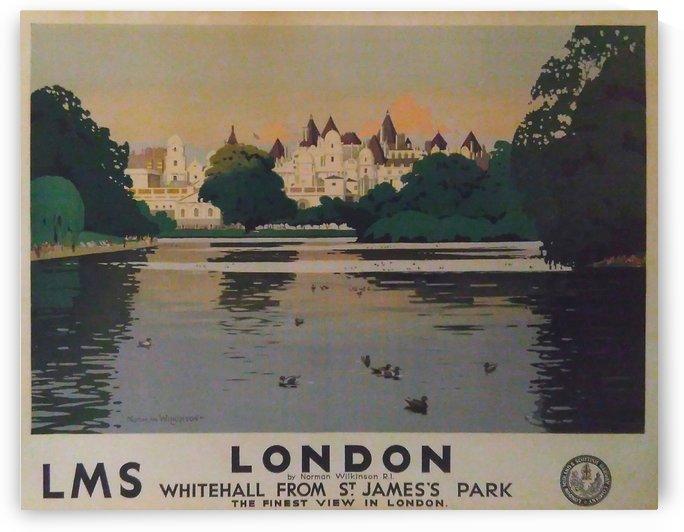 Vintage Travel - London by Culturio