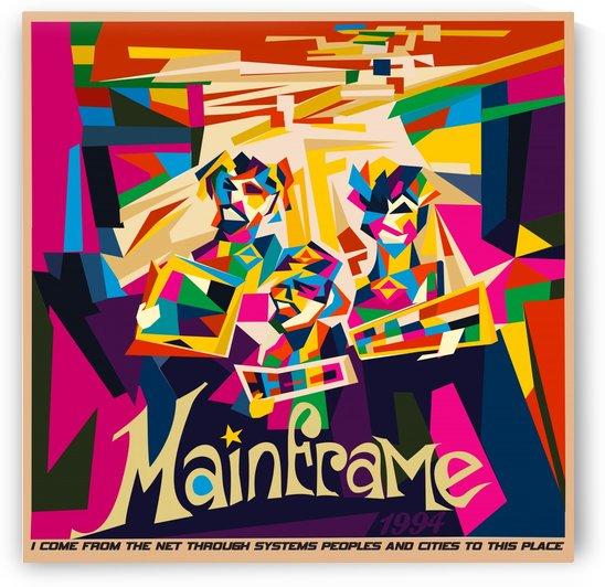 Vintage Travel - Mainframe by Culturio