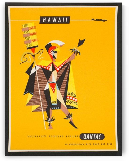 Hawaii - Vintage Travel  by Culturio
