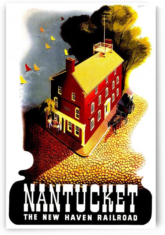 Nantucket - Vintage Travel  by Culturio