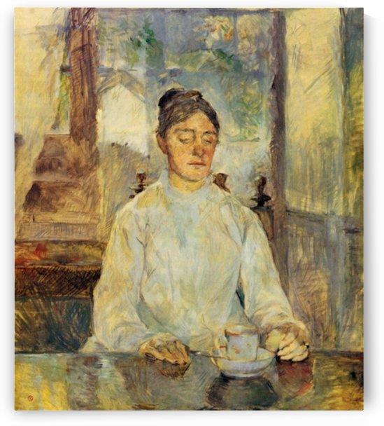Countesse Alphonse de Toulouse Lautrec by Toulouse-Lautrec by Toulouse-Lautrec