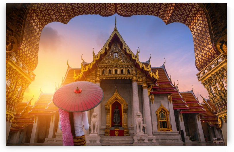 Asian temple 2 by CyclopsfromHungary