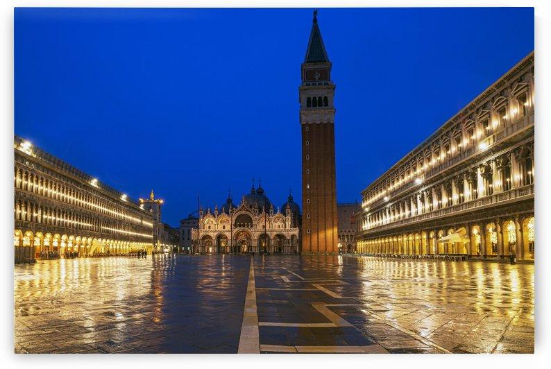 San Marco square by Luigi Girola