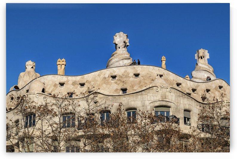 Gaudi, La Pedrera Building, Barcelona   Spain by Daniel Ferreia Leites Ciccarino