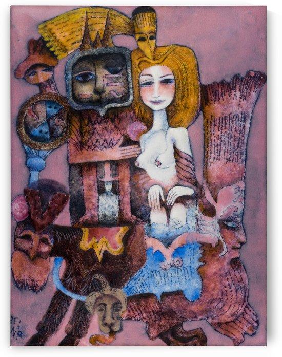 Babylon by Zdenek Krejci