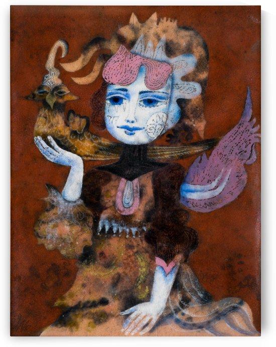 Lady Hawker by Zdenek Krejci