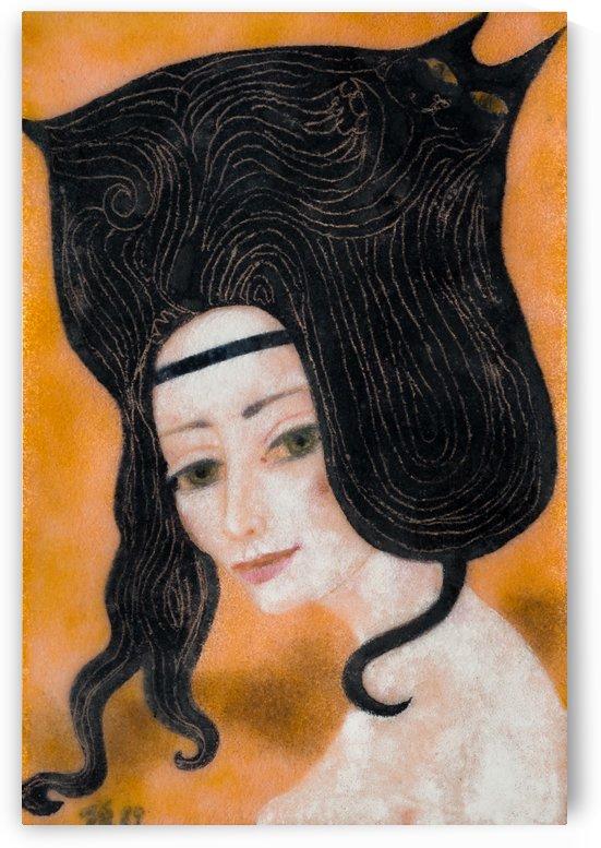 Hair Cat by Zdenek Krejci