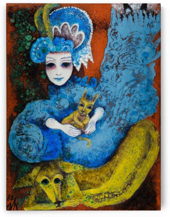 Puppy Lady by Zdenek Krejci