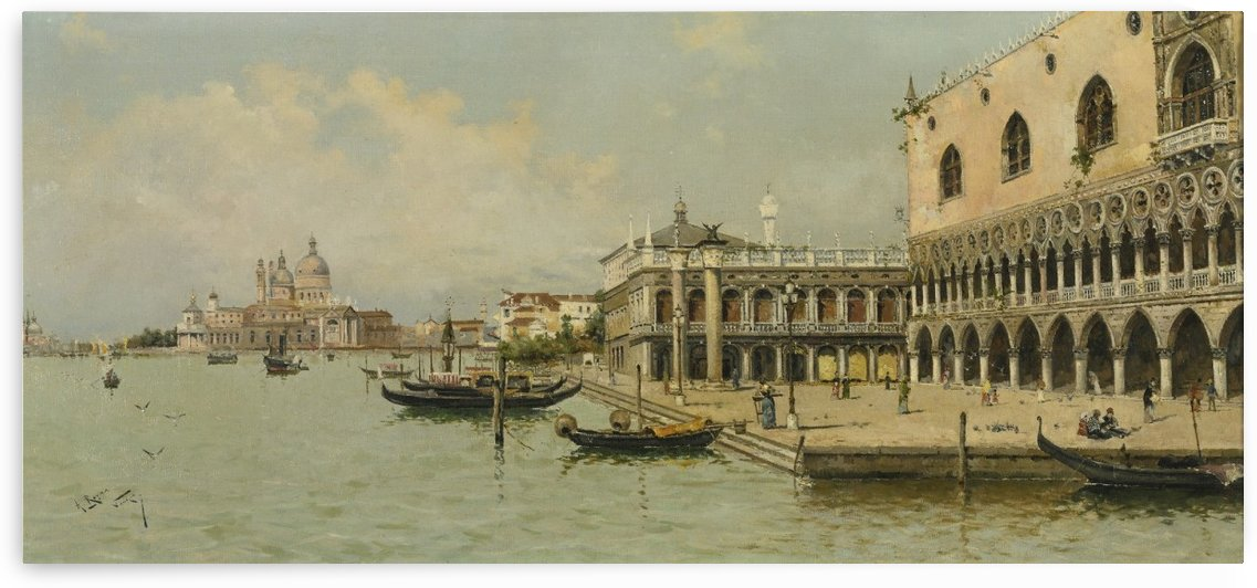 Cityscape by Cornelis Springer