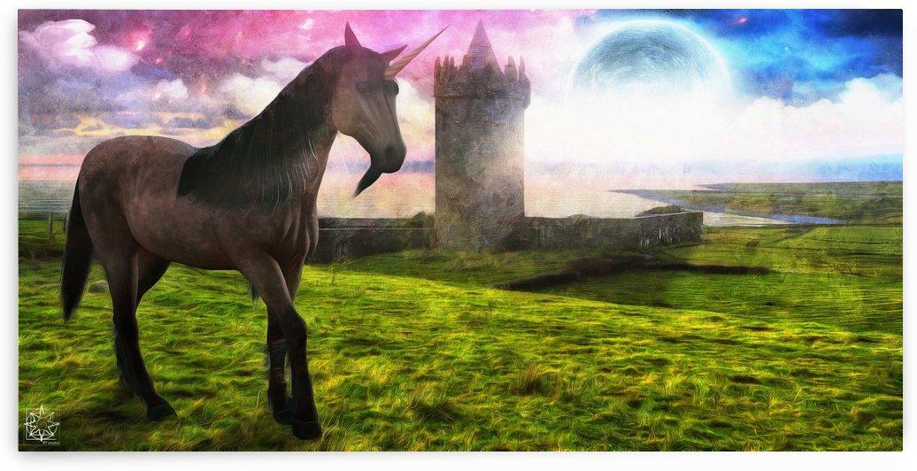 The Unicorn House by ChrisHarrisArt