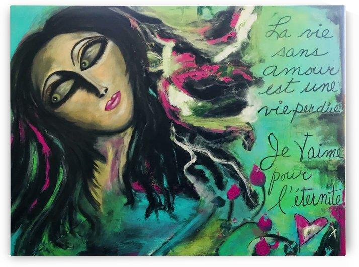 L Amoureuse de la Vie by Marie Therese Lacroix