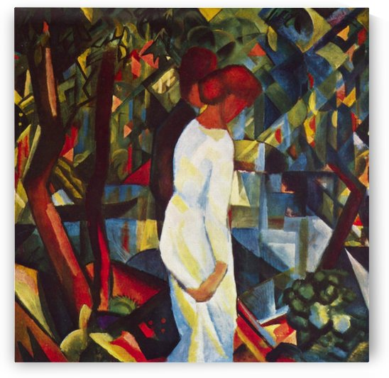 Couple in the forest by Macke by Macke