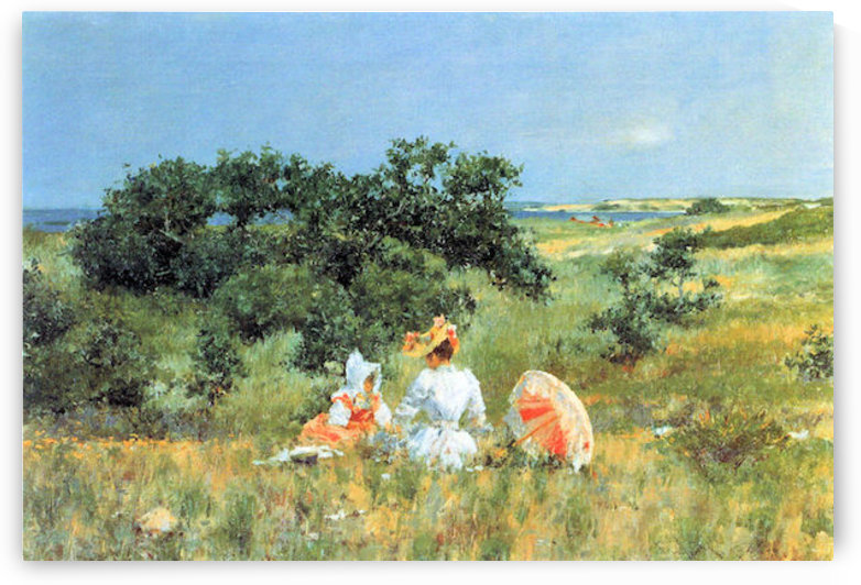 The Tale by William Merritt Chase by William Merritt Chase