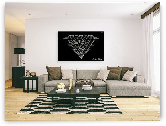 monogram diamond aaa  FOR DISPLAY ONLY  room1 by pinchos tewel