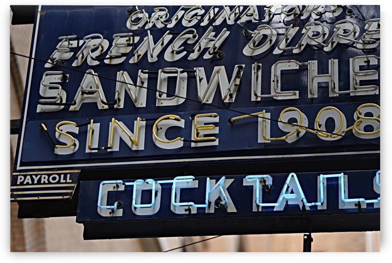 Sandwich Sign by H.Hart Photography