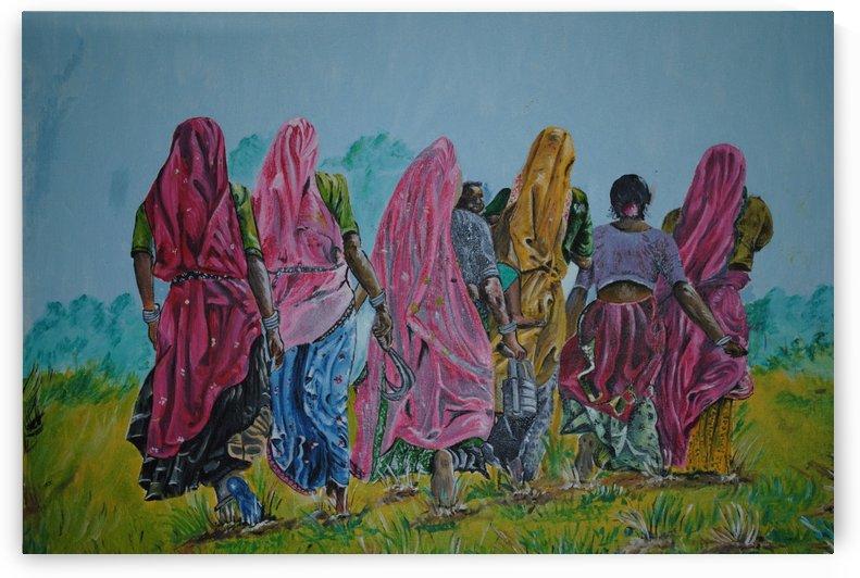Village Women_DKS by D K Saxena
