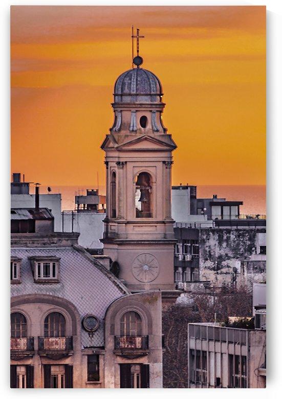 Ciudad Vieja Neighborhood Aerial VIew, Montevideo   Uruguay by Daniel Ferreia Leites Ciccarino