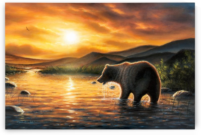 beargriz canvas by CRB