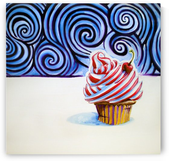 Cupcake by Adam Gillespie Artwork