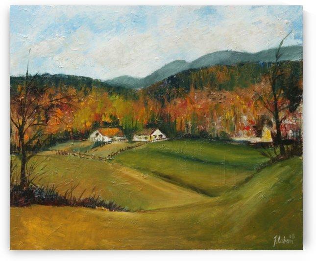 Golden fall by Joseph Coban