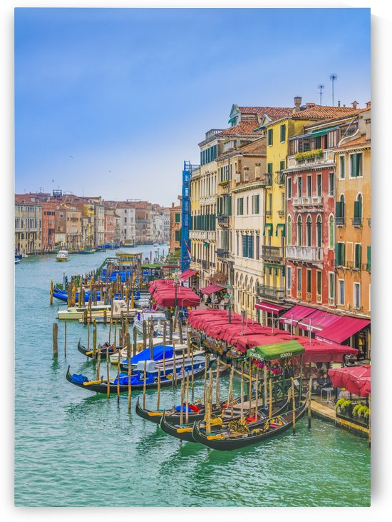 Aerial View Grand Canal of Venice, Italy by Daniel Ferreia Leites Ciccarino