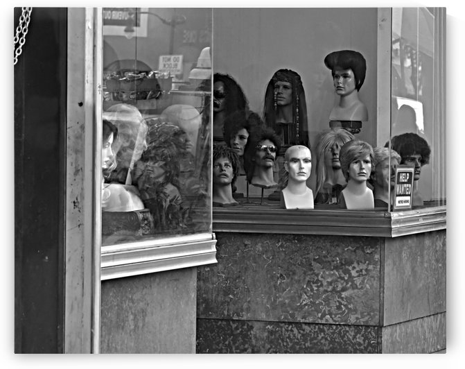 Wig Shop by H.Hart Photography