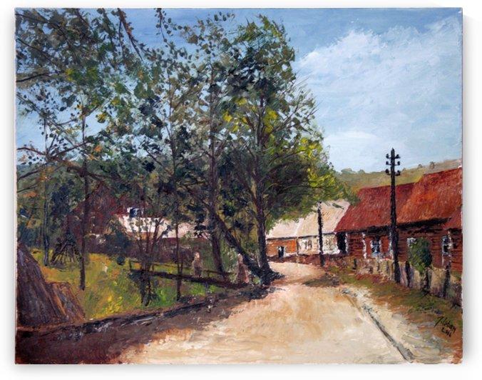 Village road by Joseph Coban
