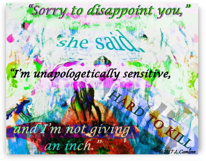 Sensitive Stationary Alternative Version by Chromatic Verse