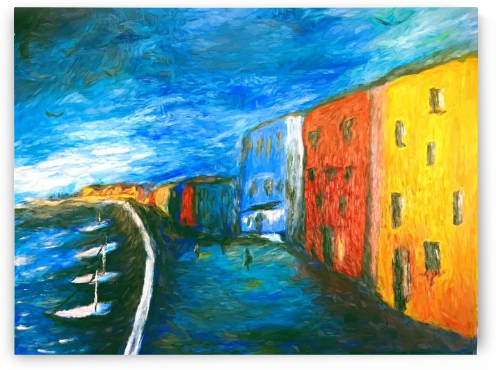 The Boardwalk v1 by Aurelia Schanzenbacher Sisters Fine Arts