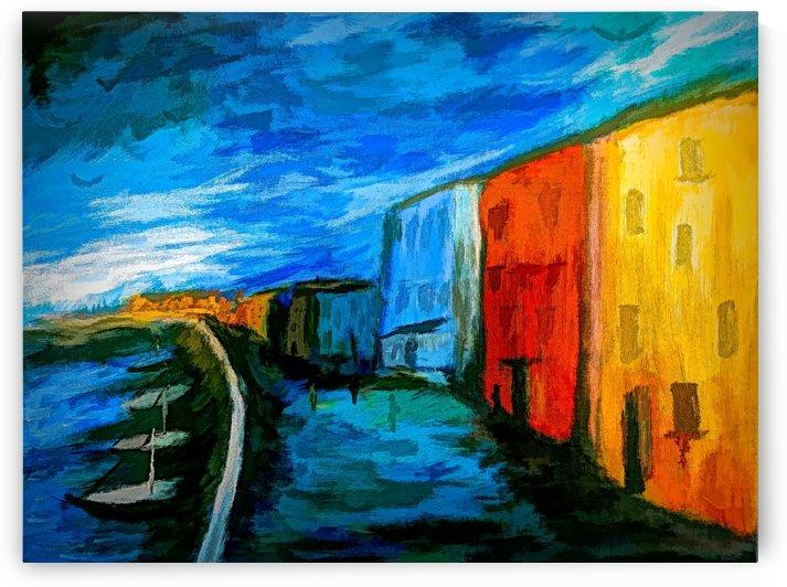 The Boardwalk v2 by Aurelia Schanzenbacher Sisters Fine Arts