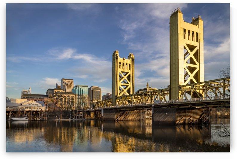 Sacramento Riverfront by Gary Geddes