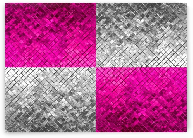 Pink and Silver 1 by ABConcepts