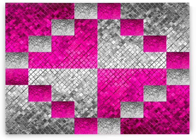 Pink and Silver 6 by ABConcepts