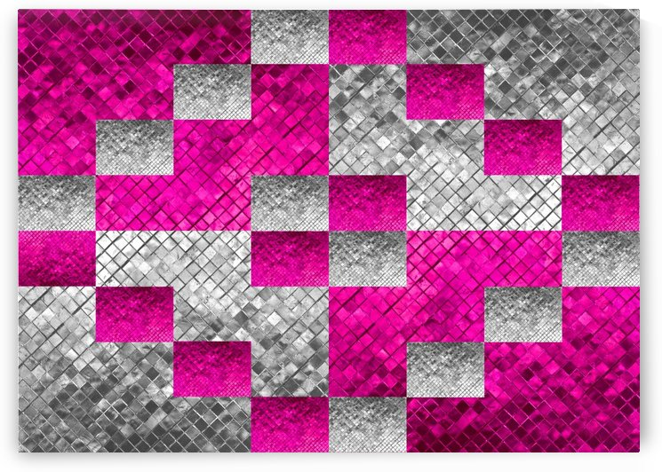 Pink and Silver 7 by ABConcepts